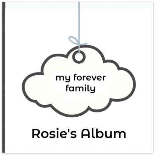 Large My Forever Family Adoption Album - 14 pages